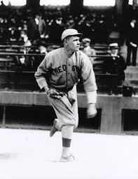 ruth babe baseball hall of fame babe ruth of the boston red sox warming up before a game bl 6284 95 national baseball hall of fame library