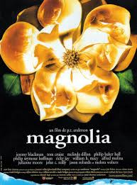 magnolia dir paul thomas anderson discreet charms magnolia french poster via carteles peliculas click the poster for a larger image