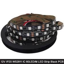 5M <b>12V WS2811</b> Addressable RGB Pixel <b>LED</b> Strip 5050 SMD ...