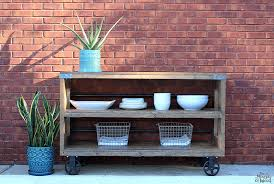 how to build a diy industrial console with simpson strong tie build industrial furniture