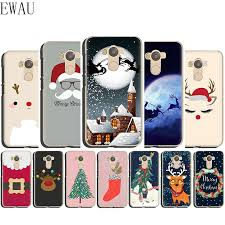 EWAU Happy <b>New Year Christmas Silicone</b> Mattle phone case for ...