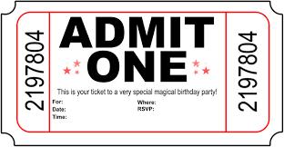 carnival ticket invitation template clip art pix for carnival ticket template