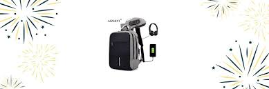 bopai 17inch laptop backpack usb charging bag multifunction anti theft business high capacity waterproof men travel
