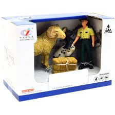 Игровой набор <b>Zhongjieming Toys</b> «Ферма» животные, <b>фигурки</b> ...
