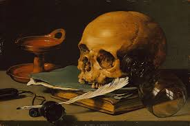 Still Life Painting in Northern Europe                Essay     The Metropolitan Museum of Art Still Life with a Skull and a Writing Quill