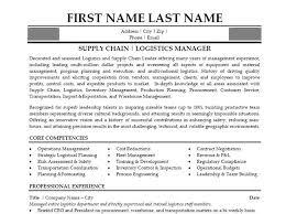 supply chain manager resume supply chain manager resume examples happytom logistics manager resume