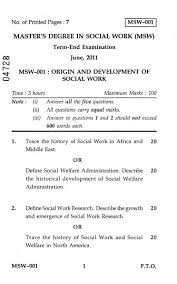 sample papers in msw 2017 2018 studychacha ignou msw paper origin and development of social work