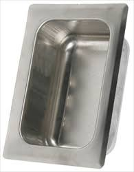 <b>Stainless</b> Steel Recessed <b>Tumbler</b>/<b>Cup Holder</b> - Rear Mount