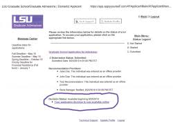 craft hawkins department of petroleum engineering a window pops up the acceptance or rejection letter