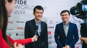 Interview with Ding <b>Liren</b> and Yu Yangyi | FIDE World Cup <b>2019</b> ...