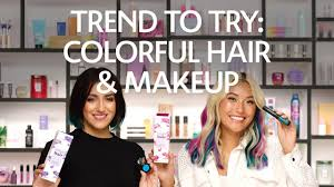 Trend to Try: Colorful <b>Hair</b> & Makeup | <b>Sephora</b> - YouTube