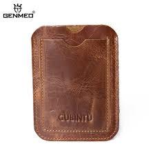 <b>GENMEO New</b> Genuine Leather Wallet Women <b>Cow</b> Leather Purse ...