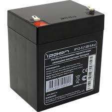 Аккумулятор для ИБП 12V 5Ah <b>Ippon IP12</b>-<b>5</b> — купить, цена и ...