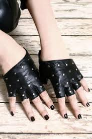 <b>Genuine leather semifinger</b> gloves spring summer dance breathable ...