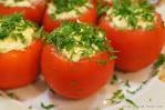 Рецепт закуски из фаршированных помидоров