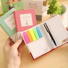 Hardcover Pen Combine Tower Notepad Diary Memo Mini - Vova