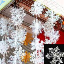 Christmas <b>30pcs</b> Snowflake Christmas Decor <b>Happy</b> Festival ...
