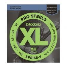 <b>Струны</b> для бас-гитар <b>D'Addario</b> EPS165-5 ProSteels купить в ...