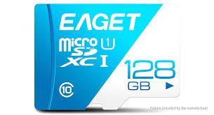Authentic <b>Eaget T1</b> Class 10 microSD <b>Memory Card</b> (32GB)
