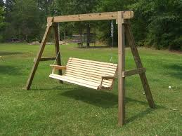 patio swing set porch frame sets