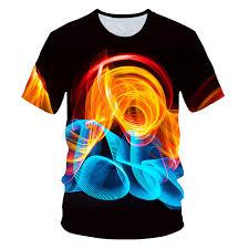 <b>Flame&Smoky 3D T Shirt</b> Men <b>Tshirt</b> Summer <b>T Shirt</b> Casual Top ...