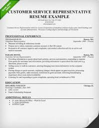 Cover Letter Examples   customer service representative skills resume happytom co