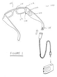 patent us20070030442 eyeglasses having a camera google patents on simple comfort 2210 wiring diagram