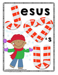 Small Picture Candy Cane Bible Printables