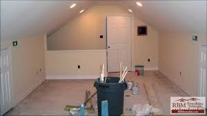 attic living room design youtube: finishing an attic to living space
