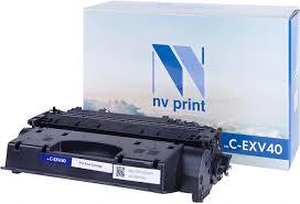 <b>Тонер</b>-туба <b>NV Print C-EXV40</b> купить, сравнить цены и ...
