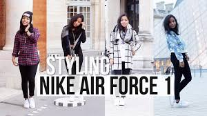 how i style nike air force 1 air force 1 style