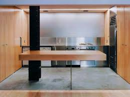 country kitchen column spout: interior design of kitchen minimalism cantilevered maple bar makes download the most exposed structural column brushed