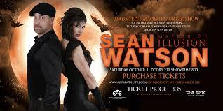 Sean Watson – Haunted <b>Halloween Magic</b> Show – Tickets – The ...