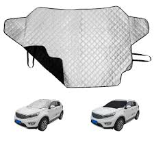 <b>1PC Car Windshield Cover</b> 145x111cm Sun Shade Magnetic ...