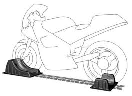 <b>Motorcycle</b> Wheel Chocks by BLACK+<b>GRAY</b> – secure <b>motorcycle</b> ...
