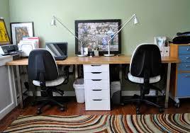 gallery 15 images of awesome butcher block desk designs amazing diy home office desk 2 black