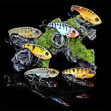 Online Shop <b>1pcs</b> 3D <b>Metal Vib Lures</b> 11g 54mm Fishing <b>Lure</b> vivid ...