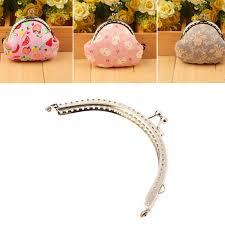 <b>THINKTHENDO</b> 10.5cm Metal Frame Kiss Clasp Arch For Purse Bag ...