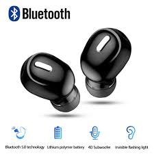 <b>X9 Mini Wireless</b> Bluetooth 5.0 Earphone In Ear Sport with Mic ...