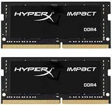 HyperX <b>Kingston 32GB</b> 2666MHz <b>DDR4</b> Non-ECC CL15 SODIMM ...