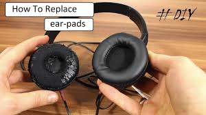 How to remove/<b>replace ear pads</b> on most headphones [DIY ...