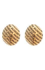 Женские золотые <b>серьги BALENCIAGA</b> — купить за 35600 руб. в ...