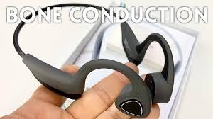 $30 Bluetooth <b>Bone</b> Conduction Headphones Review - YouTube