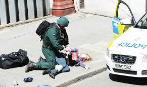 Londra Esercitazione terroristica nella città
