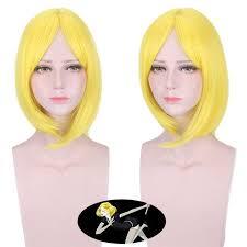 <b>High Quality</b> Anime <b>Hoseki</b> no kuni Yellow Diamond Cosplay Wig ...