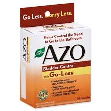 Azo <b>Bladder Control</b>™ with <b>Go</b>-<b>Less</b>® 54-Count Dietary Supplement ...