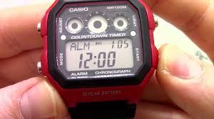 <b>Часы Casio</b> Illuminator <b>AE</b>-<b>1300WH</b>-4A [<b>AE</b>-<b>1300WH</b>-4AVEF ...