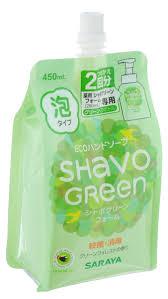 """Жидкое <b>пенящееся мыло для</b> рук """"Shavo Green"""", 450 мл"""