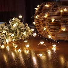 <b>HNGCHOIGE 3m 30 LED</b> Waterproof Stars Copper Wire Fairy String ...