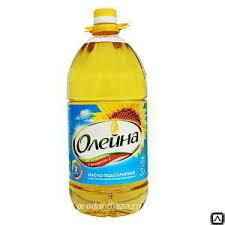 """<b>Подсолнечное масло</b>""""Олейна"""" 5 л, цена в Москве от компании ..."""